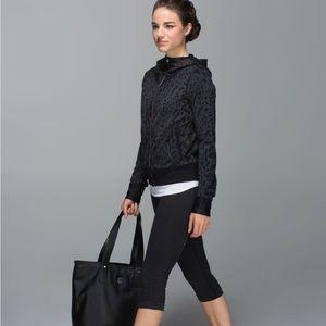 lululemon athletica Jackets & Coats - Lululemon   Namaskar Hoodie Animal Coal / Black 8